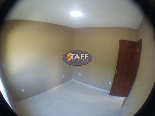 casa com 2 dormitórios à venda, 60 m² por r$ 95.000 - unamar - cabo frio/rj - ca1061