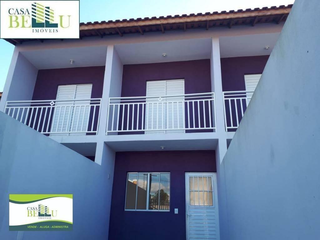 casa com 2 dormitórios à venda, 62 m² por r$ 205.000 - jardim santo antonio - franco da rocha/sp - ca0345
