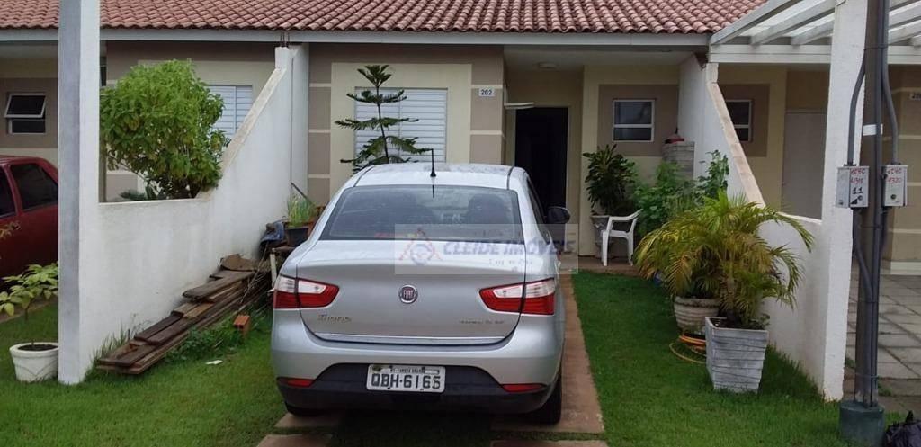 casa com 2 dormitórios à venda, 63 m² por r$ 220.000 - jardim imperial - cuiabá/mt - ca1052
