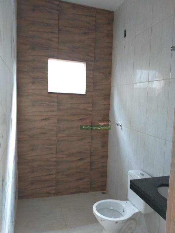 casa com 2 dormitórios à venda, 64 m² por r$ 180.000 - alberto ronconi - tremembé/sp - ca2075