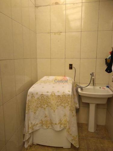 casa com 2 dormitórios à venda, 64 m² por r$ 190.000 - vila lavínia - mogi das cruzes/sp - ca0356