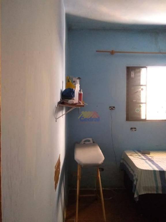 casa com 2 dormitórios à venda, 64 m² por r$ 250.000,00 - vila lavínia - mogi das cruzes/sp - ca0356