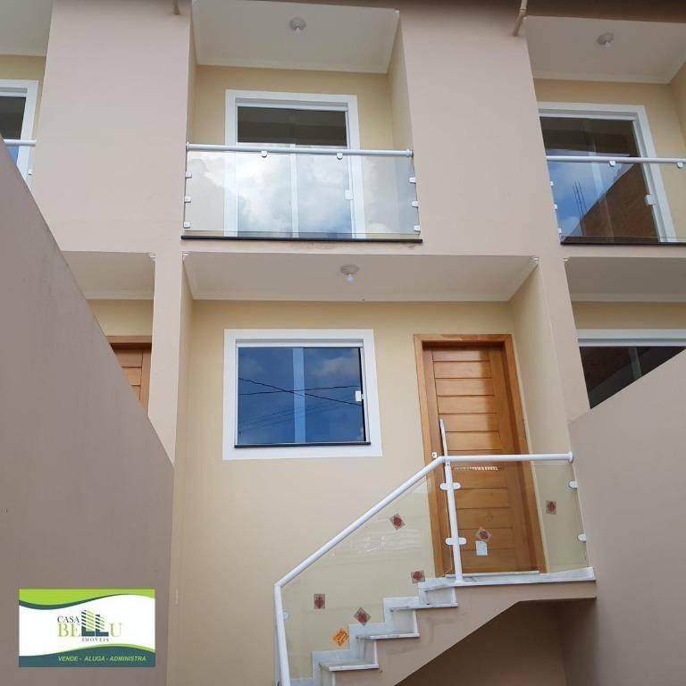 casa com 2 dormitórios à venda, 65 m² por r$ 230.000 - parque montreal - franco da rocha/sp - ca0453