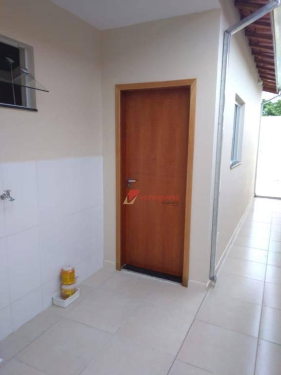 casa com 2 dormitórios à venda, 65 m² por r$ 245.000 - vila sônia - piracicaba/sp - ca0720