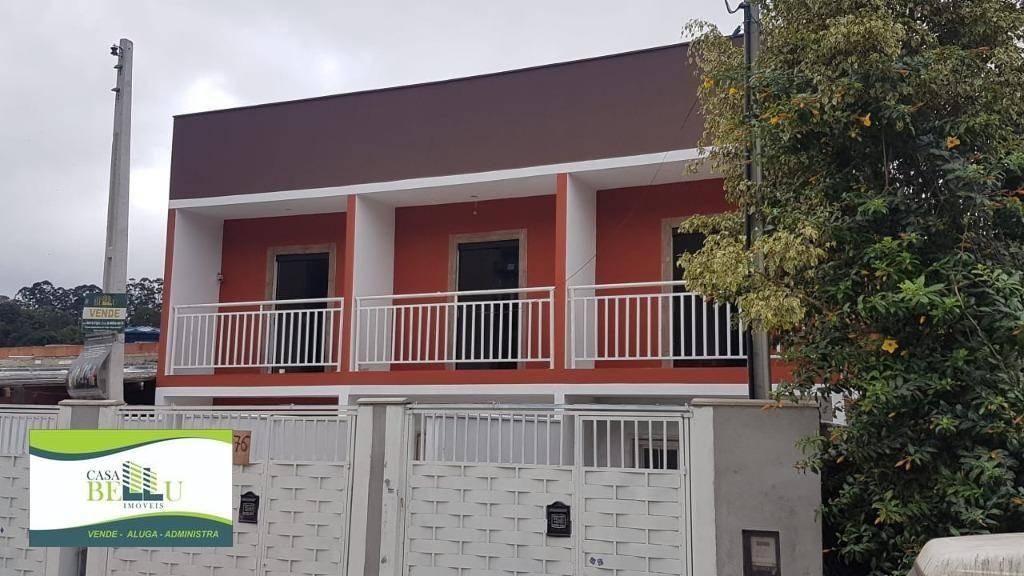 casa com 2 dormitórios à venda, 67 m² por r$ 190.000 - parque montreal - franco da rocha/sp - ca0492