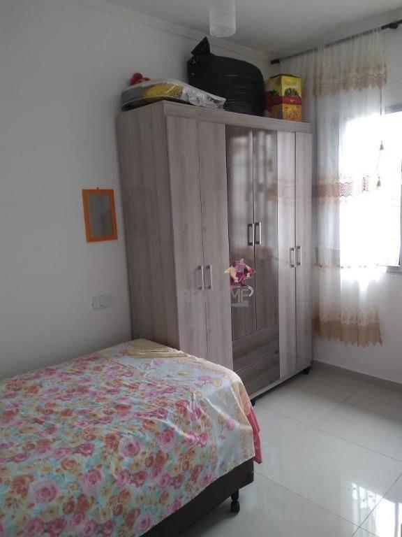 casa com 2 dormitórios à venda, 67 m² por r$ 250.000 - centro - são bernardo do campo/sp - ca0194