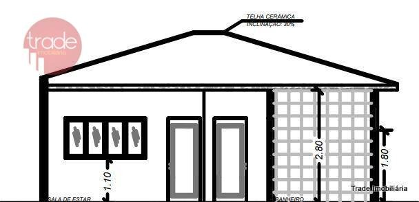 casa com 2 dormitórios à venda, 68 m² por r$ 170.000 - jardim maria regina - jardinópolis, sp. - ca2533