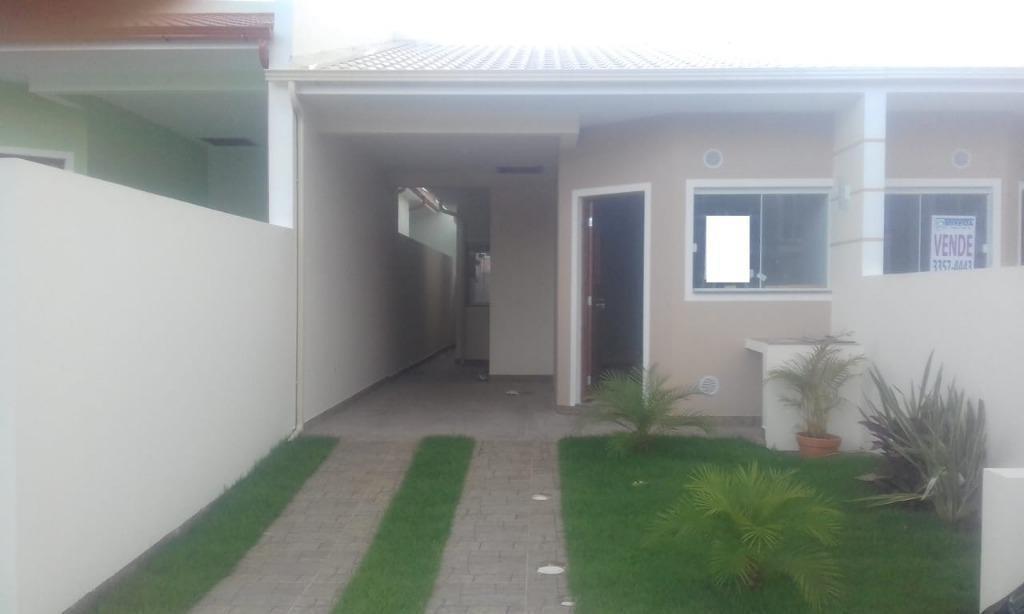 casa com 2 dormitórios à venda, 68 m² por r$ 190.000 - forquilhas - são josé/sc - ca2486