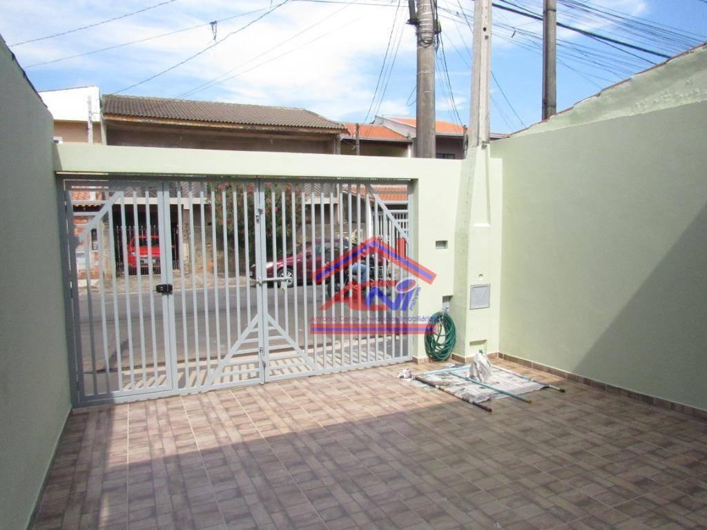 casa com 2 dormitórios à venda, 70 m²- jardim amanda i - hortolândia/sp - ca0096