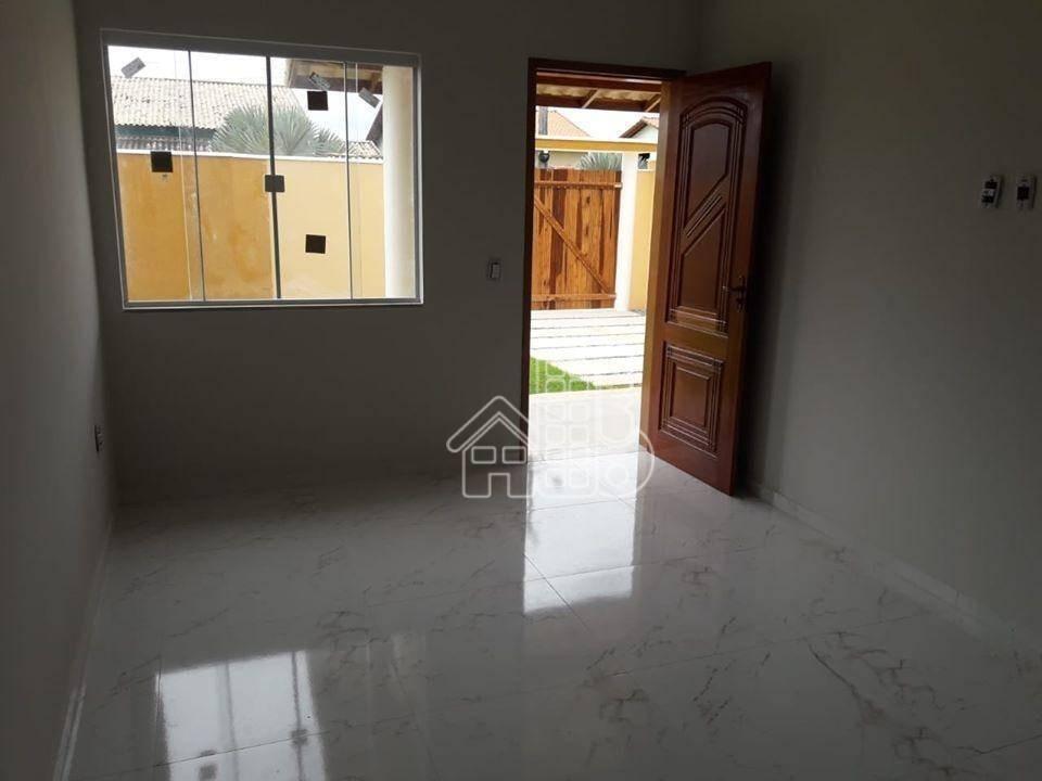 casa com 2 dormitórios à venda, 72 m² por r$ 290.000 - itaipuaçu - maricá/rj - ca1157