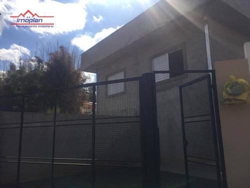 casa com 2 dormitórios à venda, 75 m² por r$ 180.000 - jardim santo antônio - atibaia/sp - ca3611