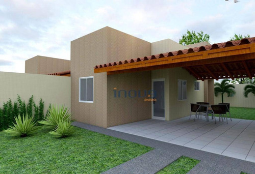 casa com 2 dormitórios à venda, 76 m² por r$ 139.900 - alto da mangueira - maracanaú/ce - ca0516