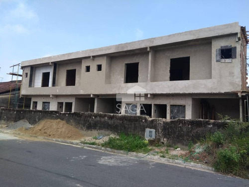 casa com 2 dormitórios à venda, 76 m² por r$ 199.000,00 - caiçara - praia grande/sp - ca0692