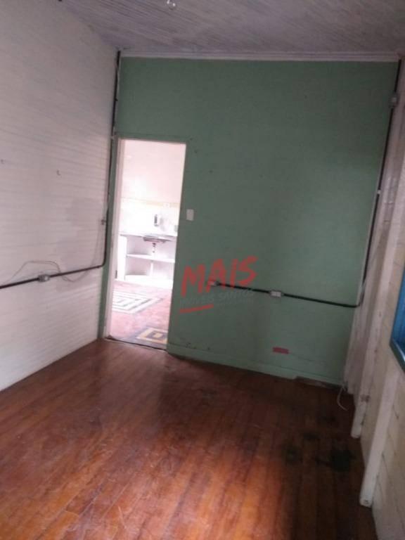 casa com 2 dormitórios à venda, 80 m² - marapé - santos/sp - ca0390