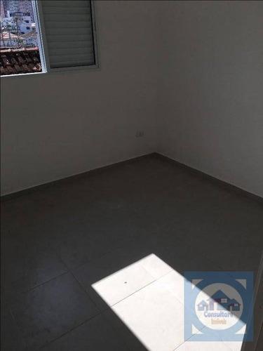 casa com 2 dormitórios à venda, 80 m² por r$ 295.000,00 - vila valença - são vicente/sp - ca0839