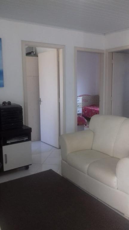 casa com 2 dormitórios à venda, 80 m² por r$ 340.000 - praia do sonho (ens brito) - palhoça/sc - ca2098