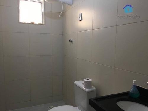 casa com 2 dormitórios à venda, 81 m² por r$ 70.000 - praia do amor - conde/pb - ca0465