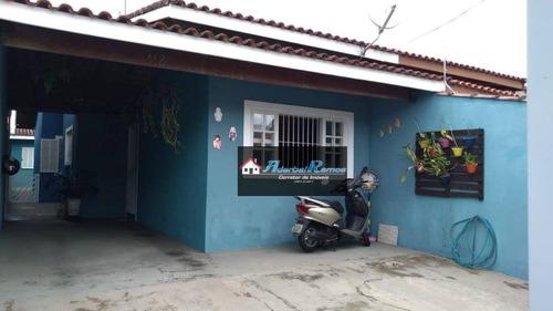 casa com 2 dormitórios à venda, 85 m² por r$ 249.000 - parque d'aville residencial - peruíbe/sp - ca1365
