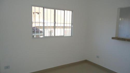 casa com 2 dormitórios à venda, 85 m² por r$ 520.000,00 - marapé - santos/sp - ca0533