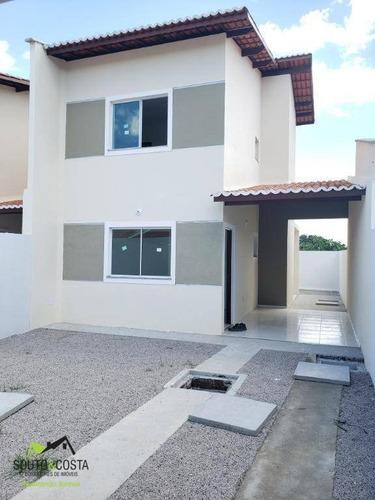 casa com 2 dormitórios à venda, 87 m² por r$ 138.000 - pedras - fortaleza/ce - ca0330