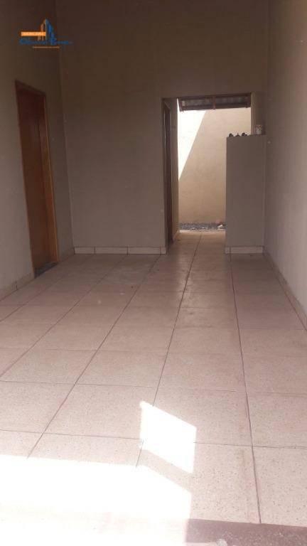 casa com 2 dormitórios à venda, 87 m² por r$ 140.000,00 - residencial monte sinai - anápolis/go - ca0932
