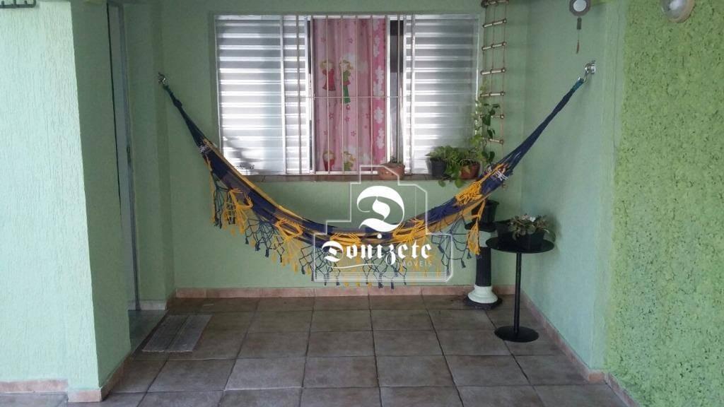 casa com 2 dormitórios à venda, 94 m² por r$ 434.000,00 - casa branca - santo andré/sp - ca0958