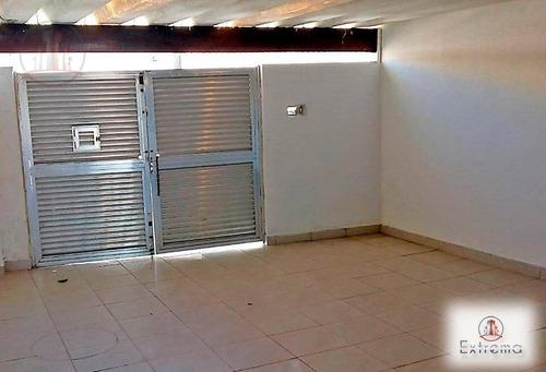 casa com 2 dormitórios à venda, 96 m² por r$ 300.000 - boqueirão - praia grande/sp - ca0051