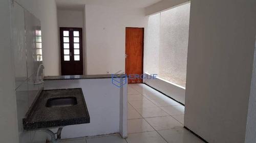 casa com 2 dormitórios à venda e locação, 80 m² - conjunto ceará - fortaleza/ce - ca0683