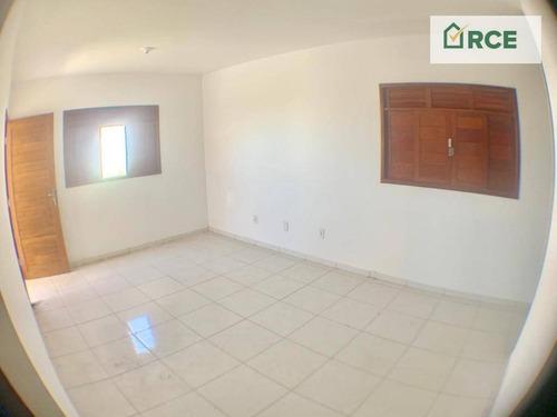 casa com 2 dormitórios à venda por r$ 119.000 - santo antônio do potengi - são gonçalo do amarante/rio grande do norte - ca0131