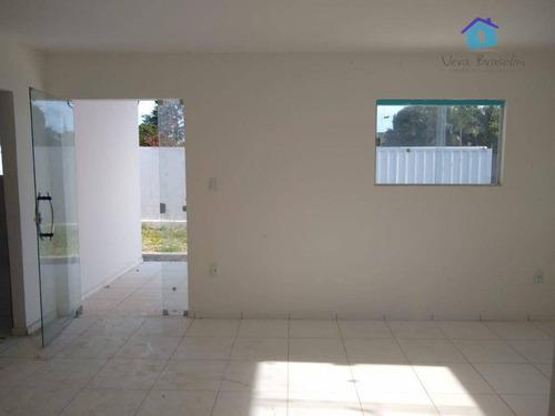 casa com 2 dormitórios à venda por r$ 150.000 - praia do amor - ca0459