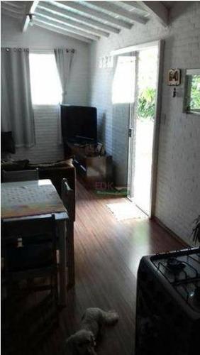 casa com 2 dormitórios à venda por r$ 243.800 - parque nossa senhora da gloria - tremembé/são paulo - ca1968