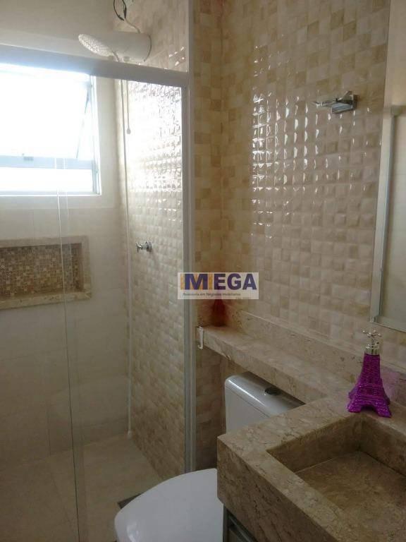 casa com 2 dormitórios villa flora, 63 m² por r$ 290.000 - jardim interlagos - hortolândia/sp - ca1356