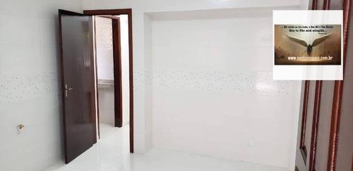 casa com 2 dormitórios,espaço gourmet com churrasqueira,02 vagas de garagem  à venda, 103 m² por r$ 422.000 - vila cláudio - santo andré/sp - ca0114