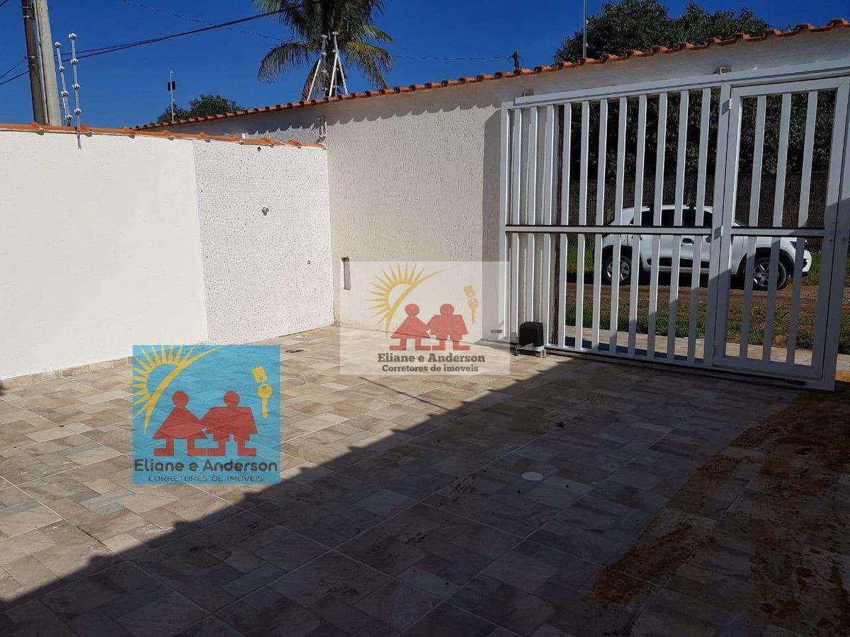 casa com 2 dorms, balneário gaivota, itanhaém - r$ 189 mil, cod: 917 - v917