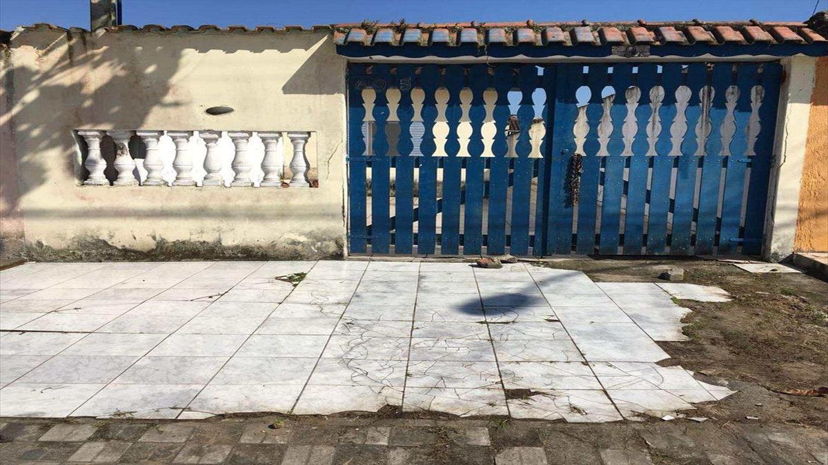 casa com 2 dorms, balneário itaguai, mongaguá - r$ 160 mil, cod: 6367 - v6367