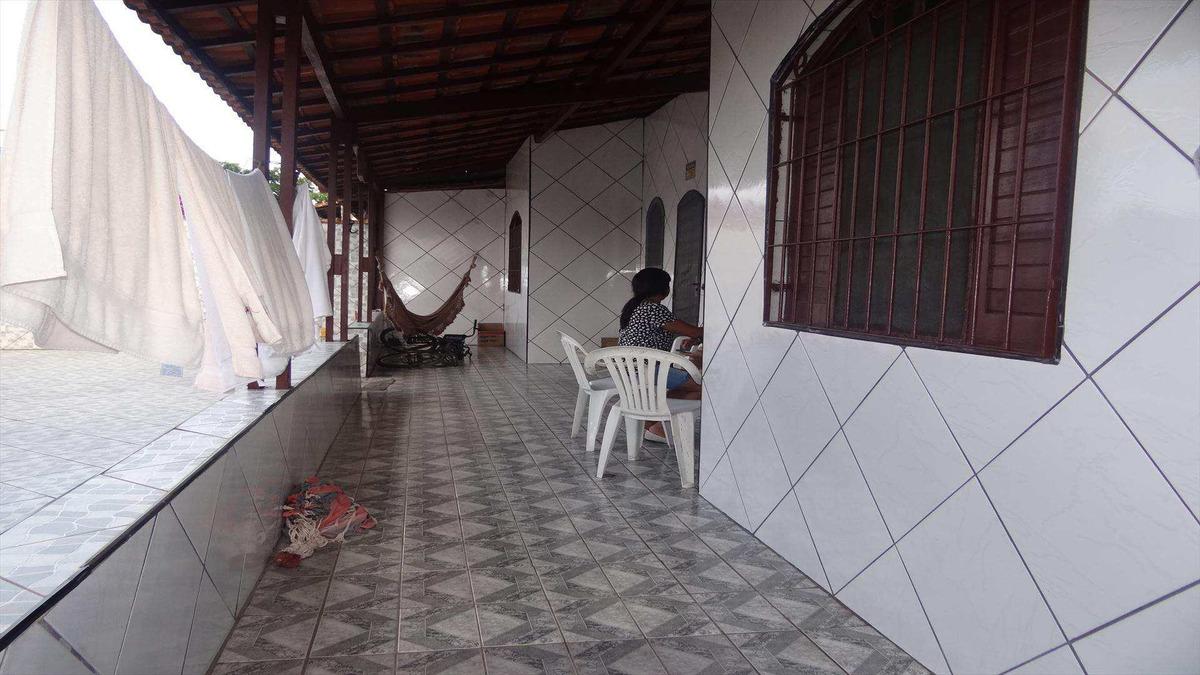 casa com 2 dorms, balneário itaguai, mongaguá - r$ 212 mil, cod: 6149 - v6149