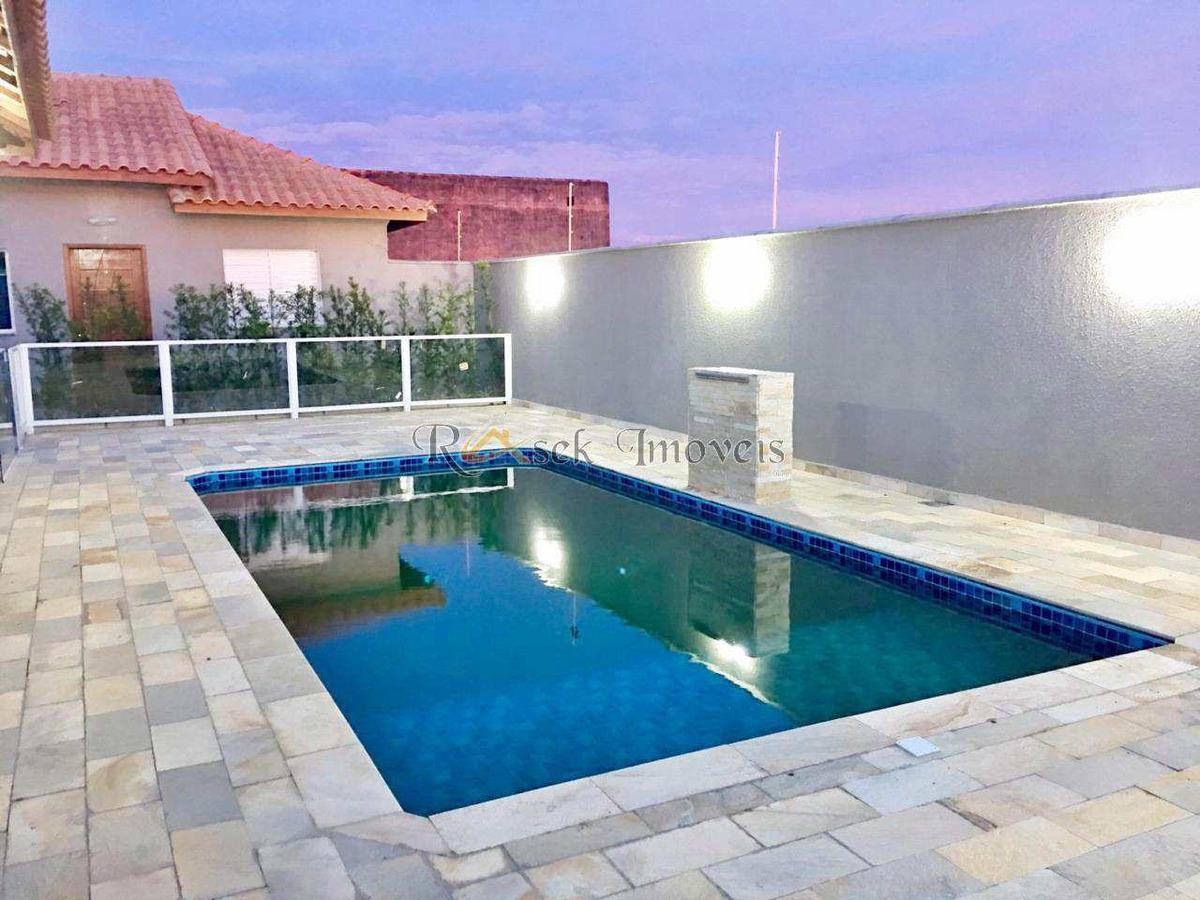 casa com 2 dorms, cibratel ii, itanhaém - r$ 169 mil, cod: 282 - v282