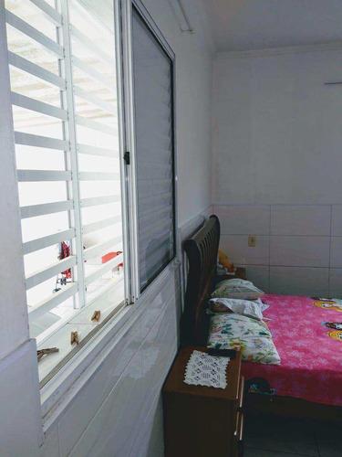 casa com 2 dorms, cidade naútica, são vicente - r$ 350 mil, cod: 1043 - v1043
