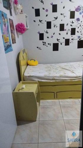 casa com 2 dorms, conjunto habitacional jardim odete ii, itaquaquecetuba - r$ 280.000,00, 0m² - codigo: 518 - v518