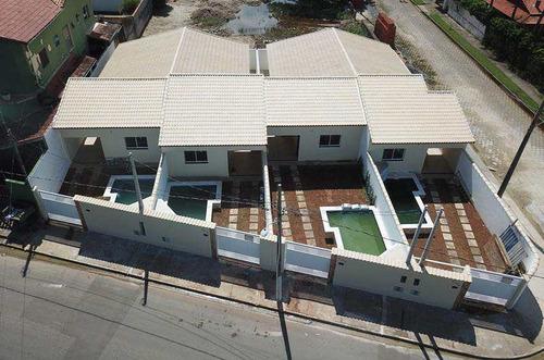 casa com 2 dorms, gaivotas, itanhaém - r$ 268 mil, cod: 198 - v198