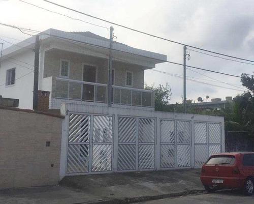 casa com 2 dorms, japuí, são vicente - r$ 220 mil, cod: 492 - v492