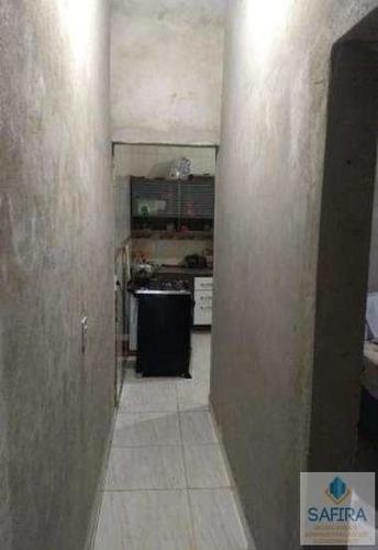 casa com 2 dorms, parque viviane, itaquaquecetuba - r$ 80.000,00, 0m² - codigo: 508 - v508