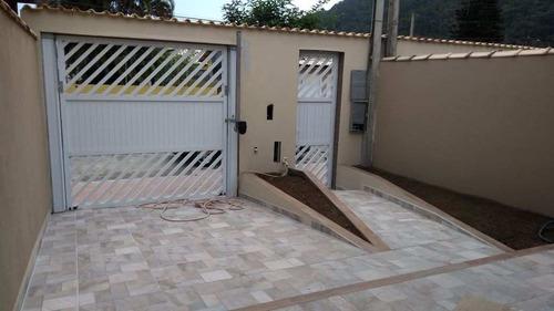 casa com 2 dorms, pedreira, mongaguá - r$ 290.000,00, 110m²