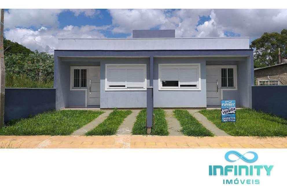 casa com 2 dorms, por do sol, gravataí - r$ 154 mil, cod: 382 - v382