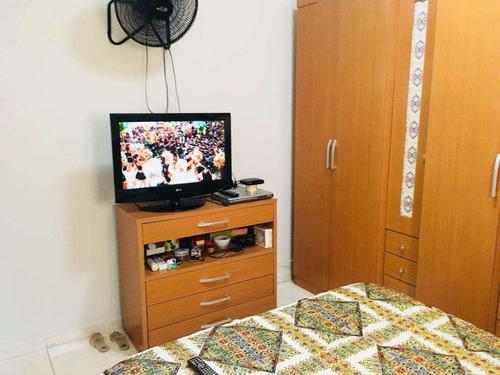 casa com 2 dorms, sítio do campo, praia grande - r$ 300.000,00, 88m² - codigo: 412244 - v412244