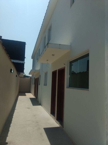casa com 2 dorms, vila mateo bei, são vicente - r$ 230 mil, cod: 166 - v166
