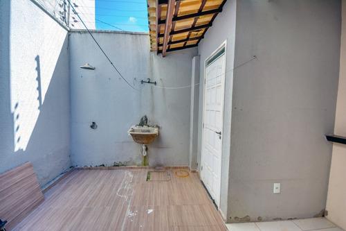 casa com 2 quartos no mondubim, garagem, cozinha americana