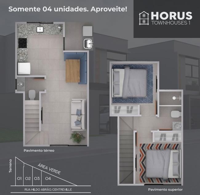 casa com 2 quartos para comprar no centreville em poços de caldas/mg - 2640