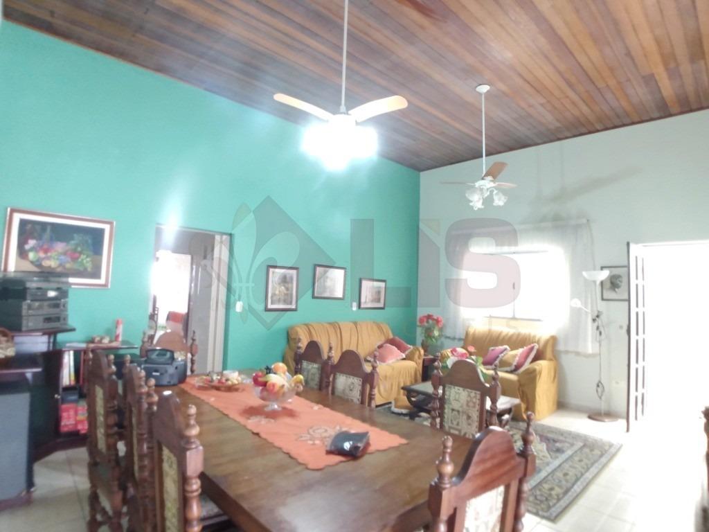 casa com 3 dormitórios (1 suíte) no centro de caraguá - ca01373 - 34558957