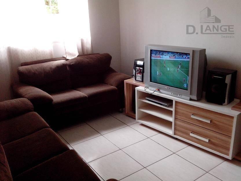 casa com 3 dormitórios, 90 m² - jardim amanda i - hortolândia/sp - ca6617